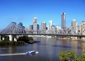 Brisbane CBD and Story Bridge